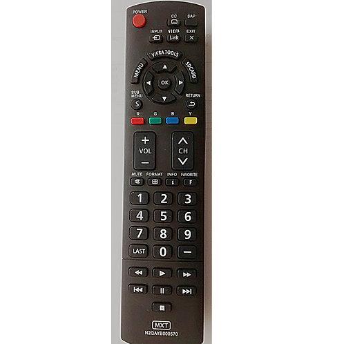 Controle remoto TV Panasonic LCD Viera N2QAYB000570 TC32LX TC50PX
