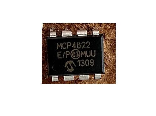 Circuito Integrado MCP4822  8 Pinos