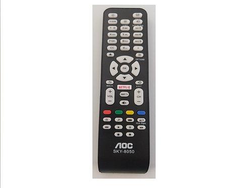 Controle Remote TV AOC Smart  Netflix RC1994713 / LE32S5760 / LE43S5760 / LE43S5