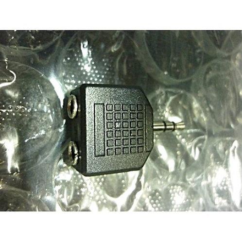 Plug adaptador P2 Jack ST  P2 ST