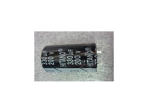 Capacitor Eletrolitico 330UF x 200v  105
