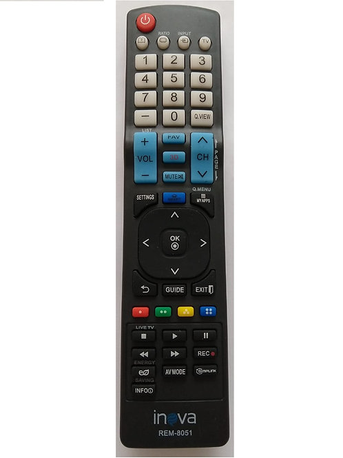 Controle Remoto TV LG SMART REM8051  INOVA