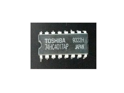 Circuito integrado 74HC4017AP original marca Toshiba