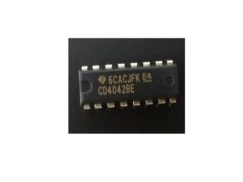 Circuito integrado CD4042BE 16 Pinos original