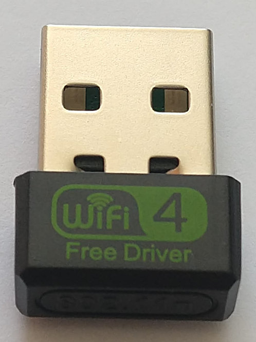 Adaptador mini USB 150 mbps WIFI  mt para uso inter e placa de rede wifi