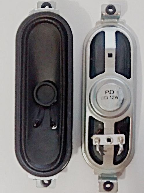 Alto Falante TV LCD CCE Stile D42 8 ohms 12W 45cm x 13cm X 3cm
