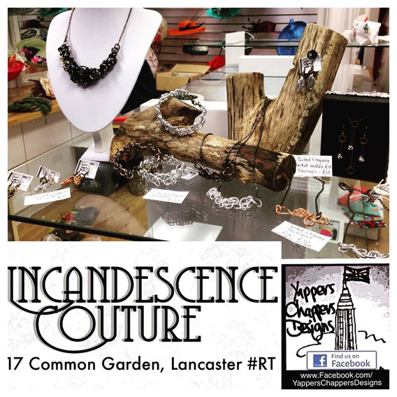 Yappers Chappers Designs at Incandesance