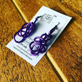 Yappers Chappers Designs purple Twisted