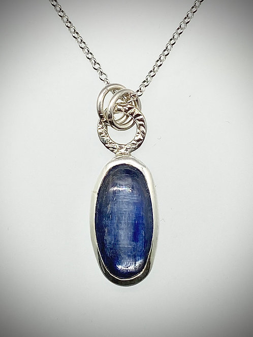 Sterling Necklace with Kyanite