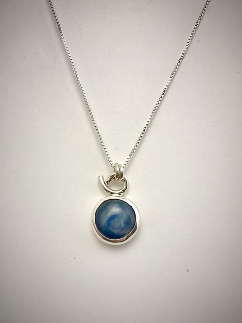 Small Sterling Kyanite Necklace