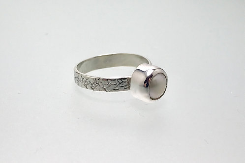 Sterling Freshwater Pearl Ring