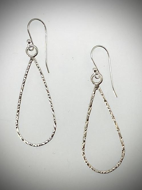Sterling Medium Teardrop Earrings
