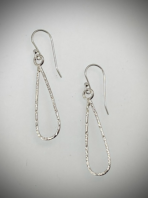 Sterling Small Teardrop Earrings