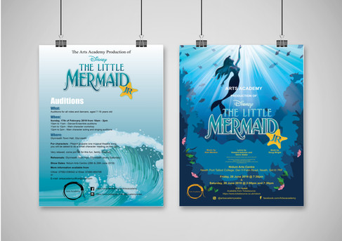 Arts Academy Posters