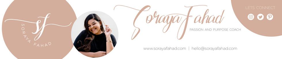 Soraya Fahad Email Signature