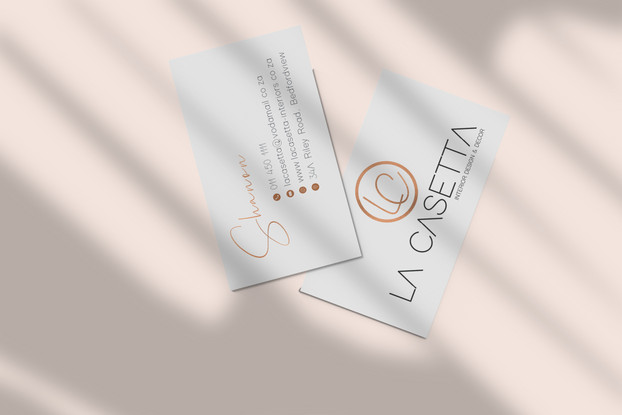 La Casetta Business Cards
