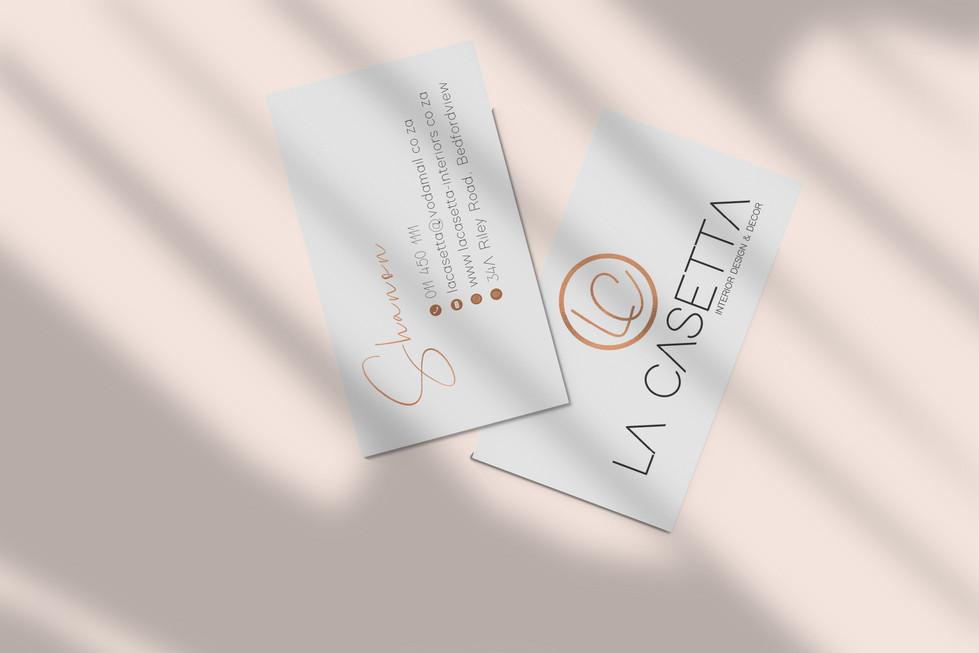 La Casetta Business Cards