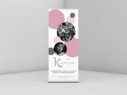 Kwanisa Pop Up Banner