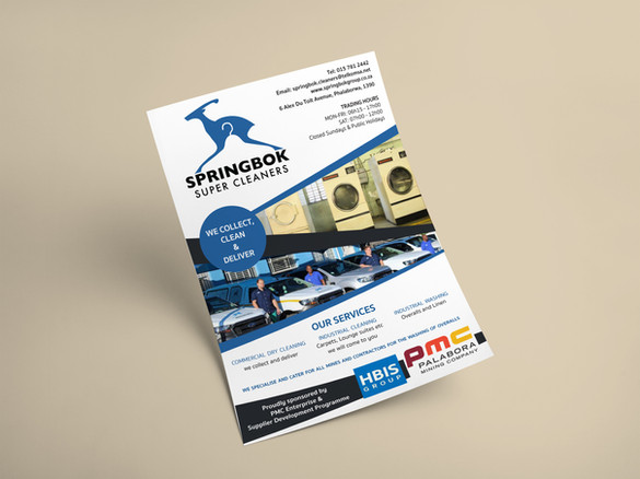 Springbok Cleaners Flyer