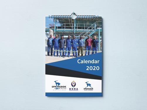 Springbok Group 2020 Calendar