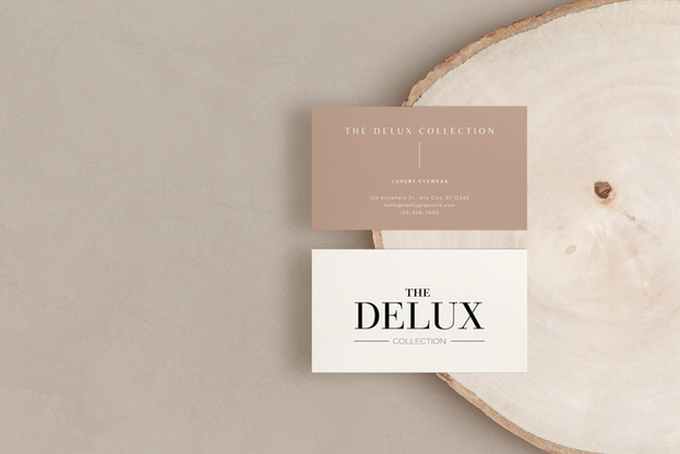 The Delux Collection Business Cards