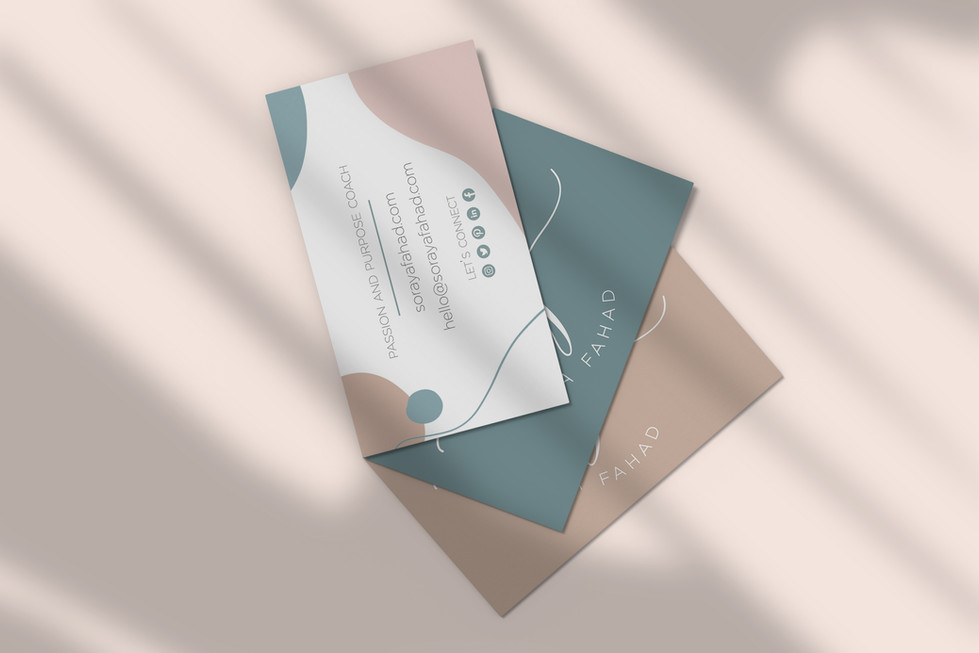 Soraya Fahad Business Cards