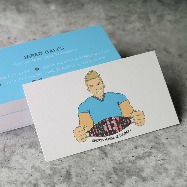 Muscle Med Business Cards