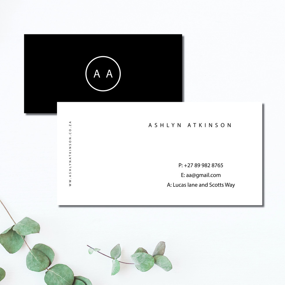 Business Card Details
