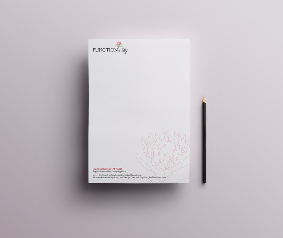 Function-ality Letterhead