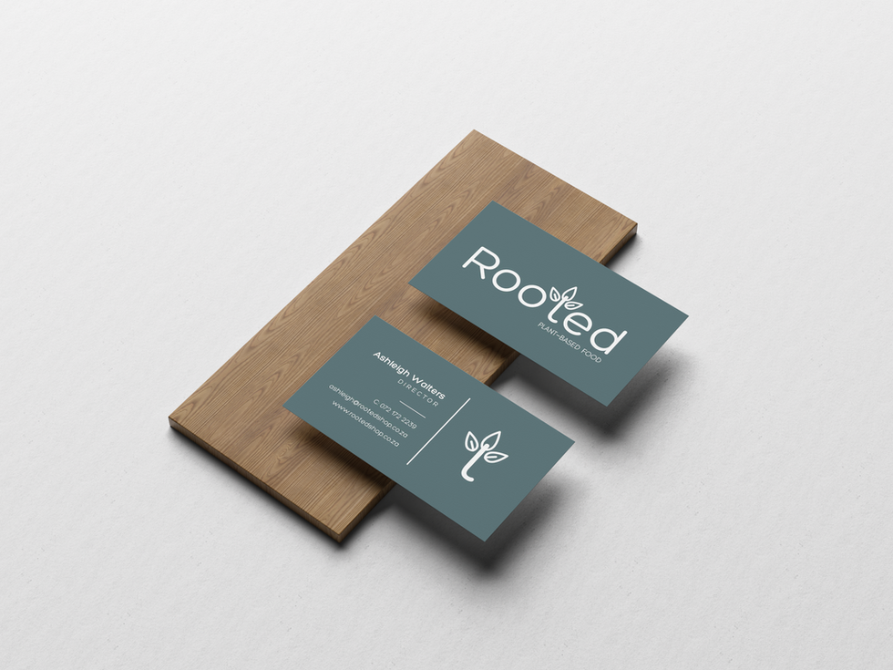 Rooted Business Cards
