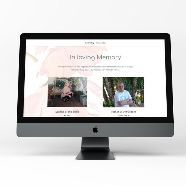 Memoriam Page