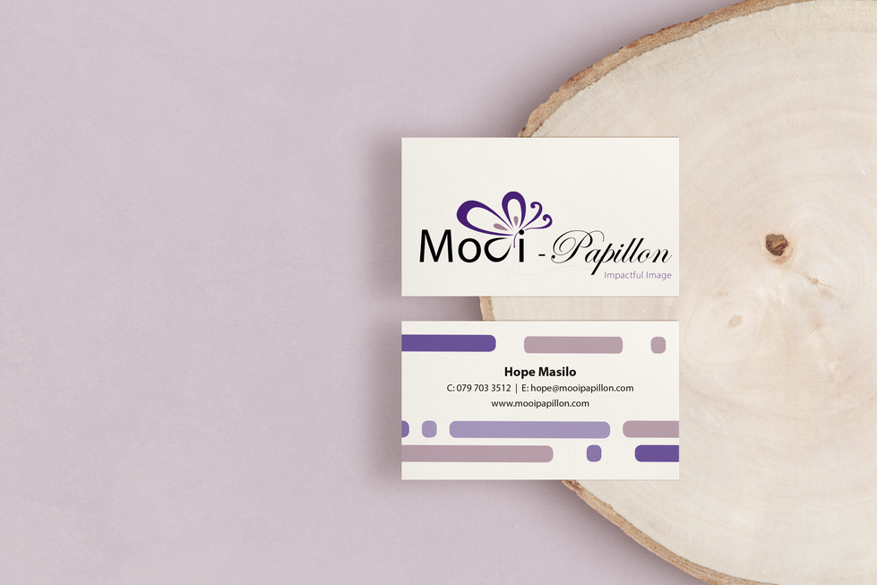 Mooi Papillon Business Cards