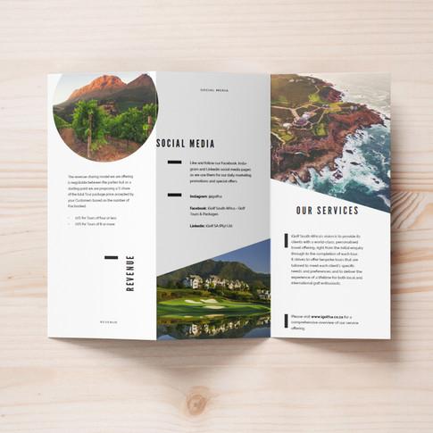 iGolf SA Infomation Brochure
