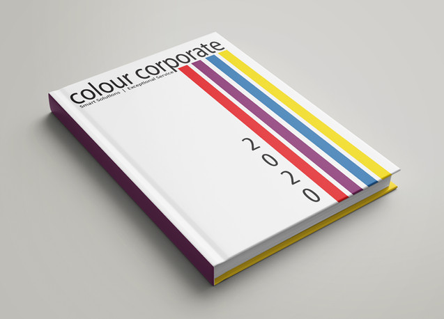 Colour Corporate Diary