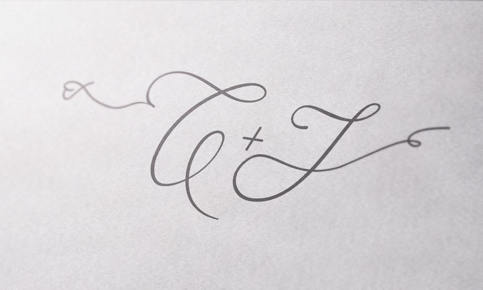 Christelle & John Monogram