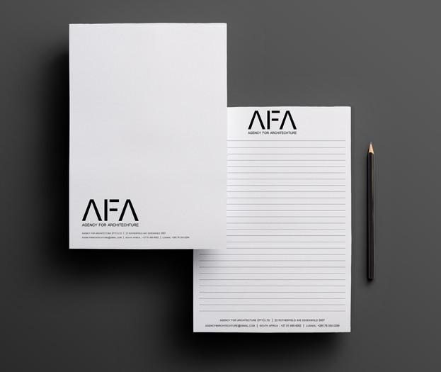 AFA Custom A5 Notepad