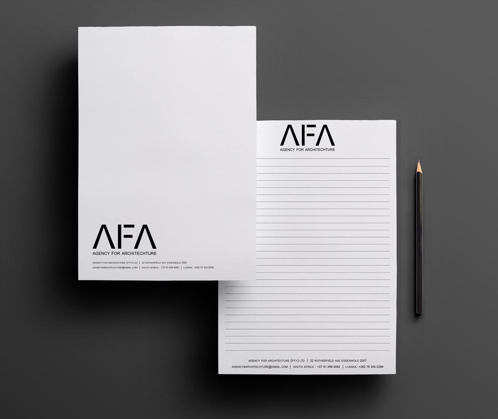 AFA Custom A5 Notepad