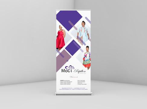Mooi-Papillon Pop Up Banner