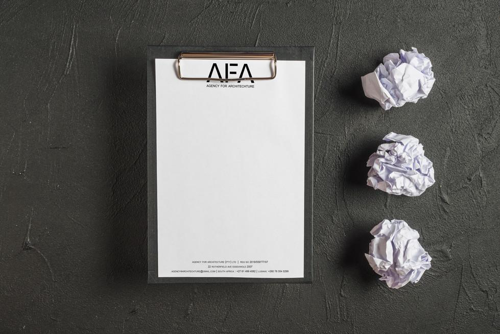 AFA Letterhead