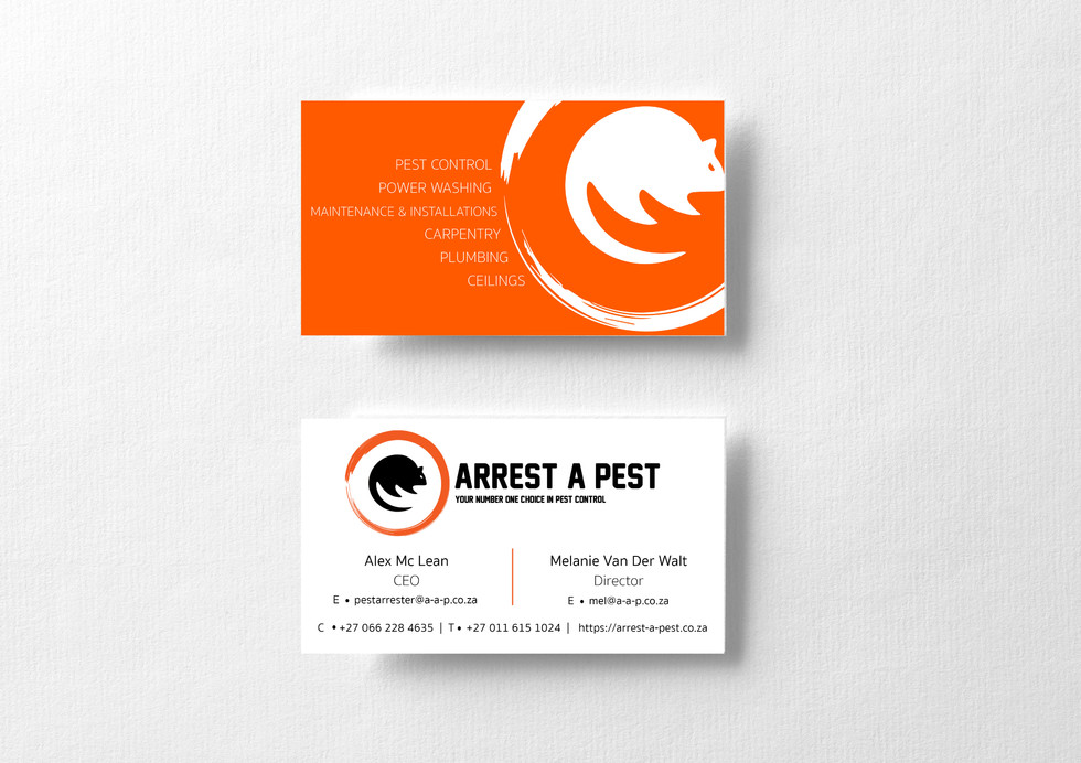 Arrest A Pest Business Cards