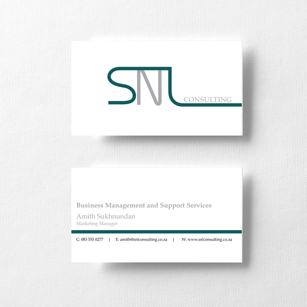 SNL Consulting Business Cards