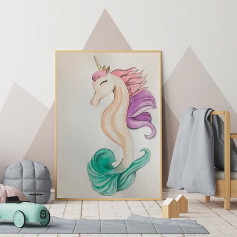 Unicorn Sea Horse