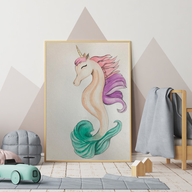 Unicorn Sea Horse