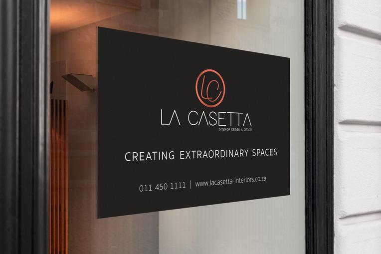 La Casetta Signage