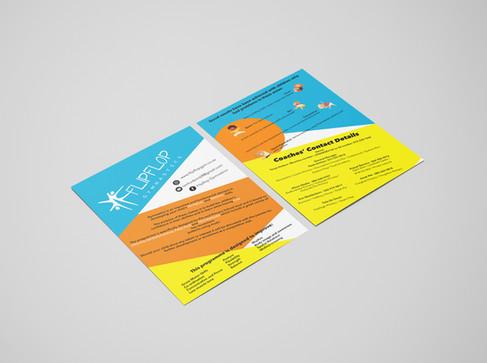 FlipFlop Gymnastics Flyer