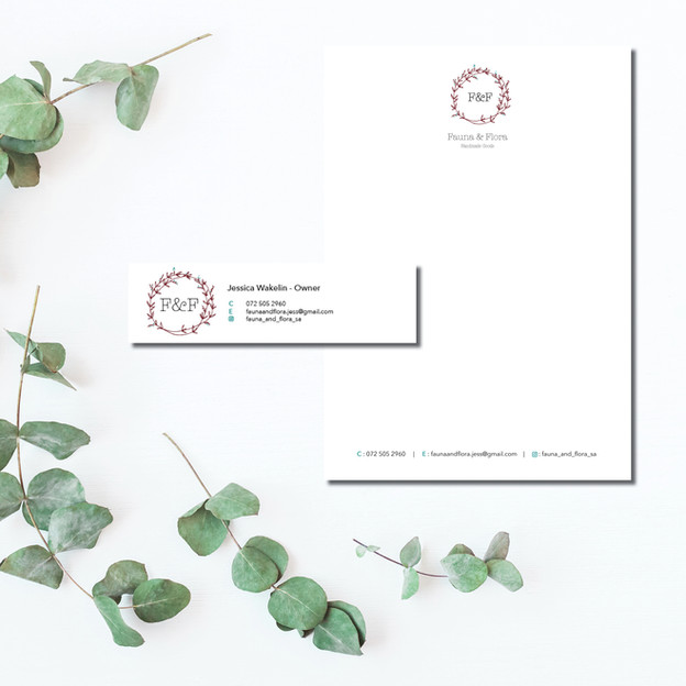 Fauna and Flora Letterhead and Email Signature