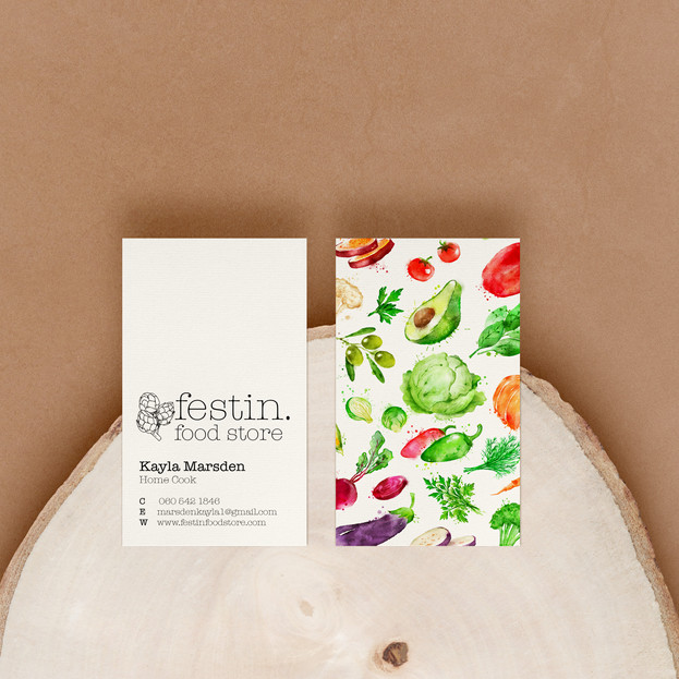 Festin Business Cards