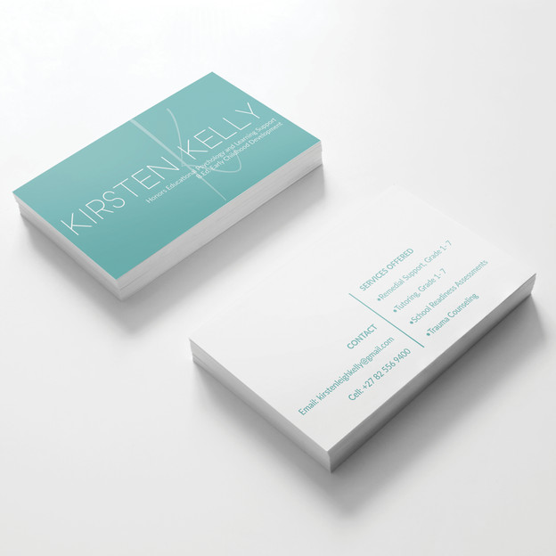 Kirsten Kelly Personal Business Cards