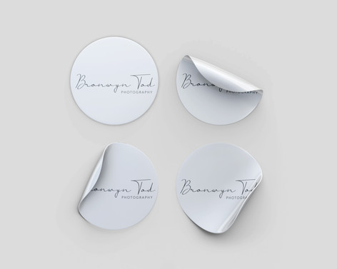 Circle Format Stickers