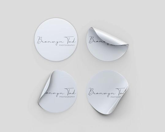 Round Format Stickers